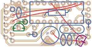 Ниже приведена сборочная схема без навесных элементов - ИК-приемника,ИК-приемопередатчика, свето и.