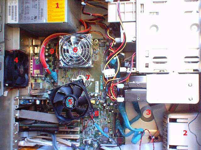 Мой компьютер собран в корпусе